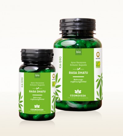 Organic Ayus Rasayana Capsules - Rasa Dhatu