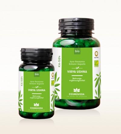 Organic Ayus Rasayana Capsules - Virya Ushna