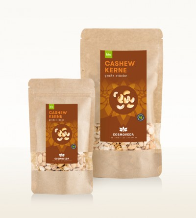 Organic Cashew Nuts large Pieces