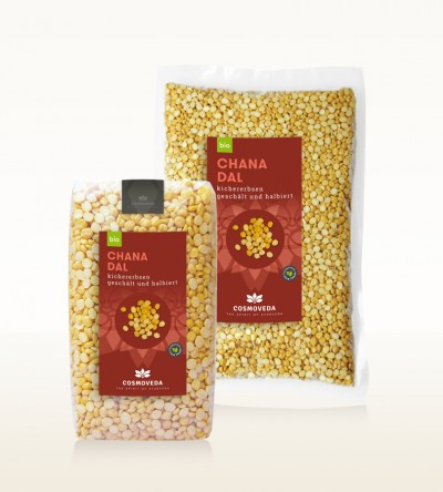 Organic Chana Dal - chickpeas, peeled and split