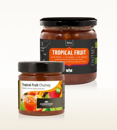 Organic Tropical Fruit Chutney