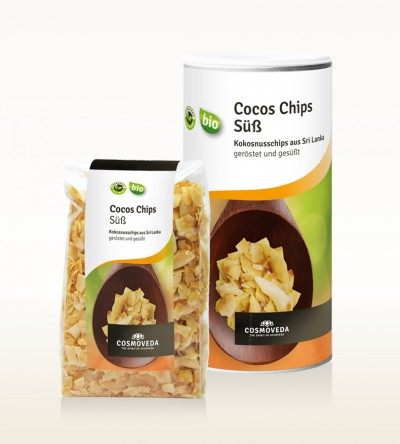 Organic Coconut Chips, toasted and sweetened