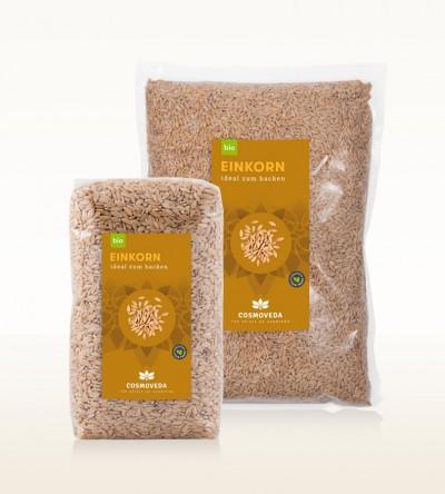 Organic Einkorn Grain