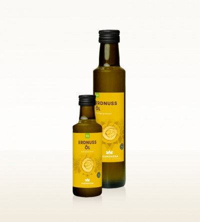 Organic Peanut Oil cold-pressed
