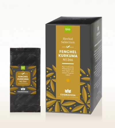 Organic Fennel Turmeric Tea