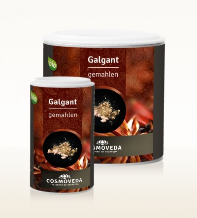 Organic Galangal ground
