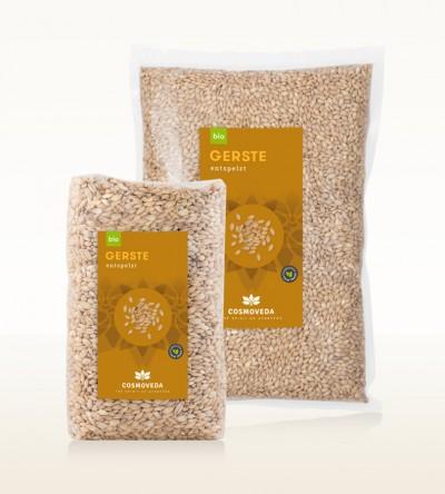 Organic Barley Hulled