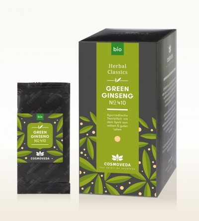 Organic Green Ginseng Tea