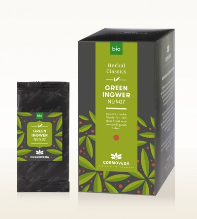 Organic Green Ingwer Tea