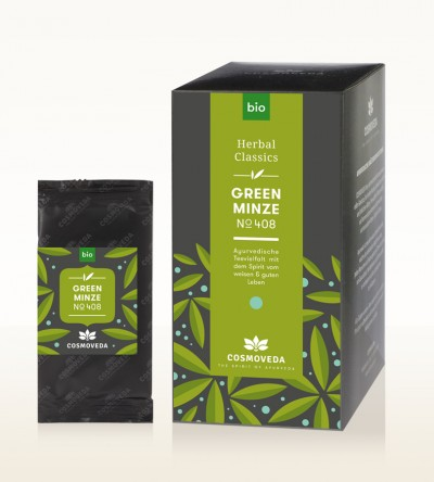 Organic Green Minze Tea
