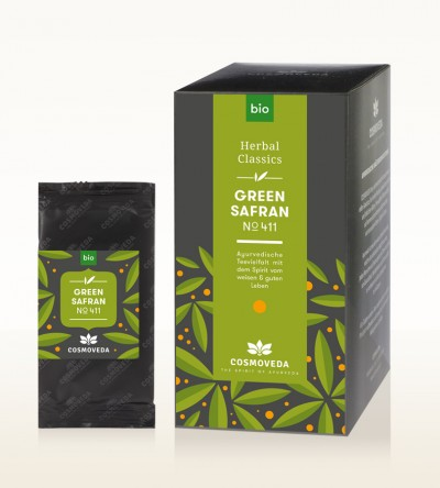 Organic Green Safran Tea