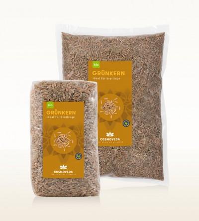 Organic Unripe Spelt Grain