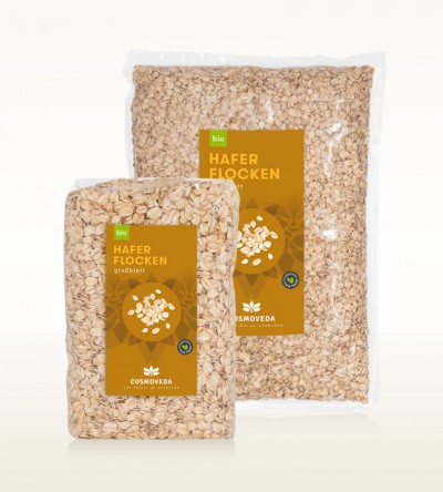 Organic Large Leaf Oat Flakes