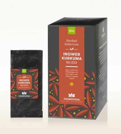 Organic Ginger Turmeric Tea