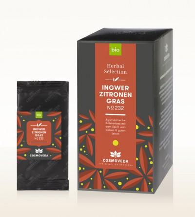 BIO Ingwer Zitronengras Tee