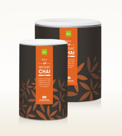 Organic Instant Chai Latte - Spicy