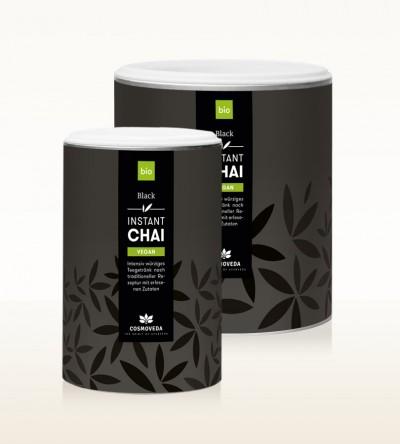 Organic Instant Chai Vegan - Black