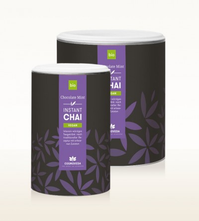 Organic Instant Chai Vegan - Chocolate Mint