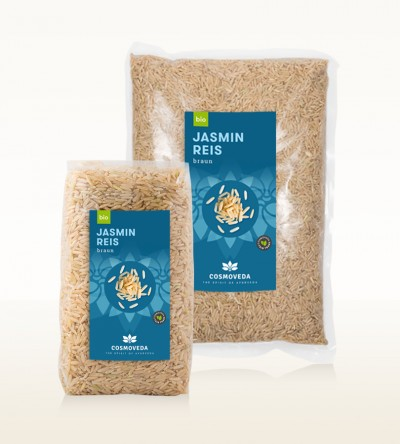 Organic Jasmin Rice brown