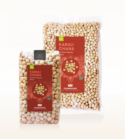 Organic Kabuli Chana - chickpea, whole
