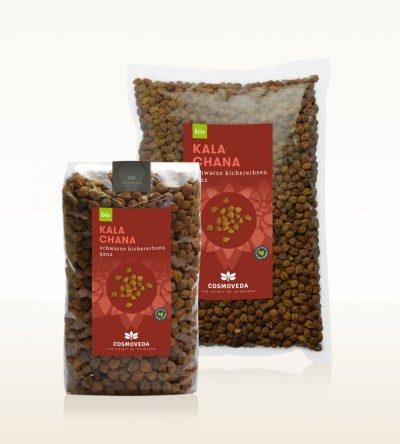 Organic Black Chickpeas whole