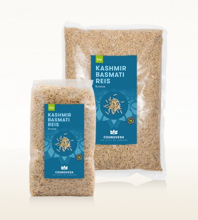 Organic Kashmir Basmati Rice brown