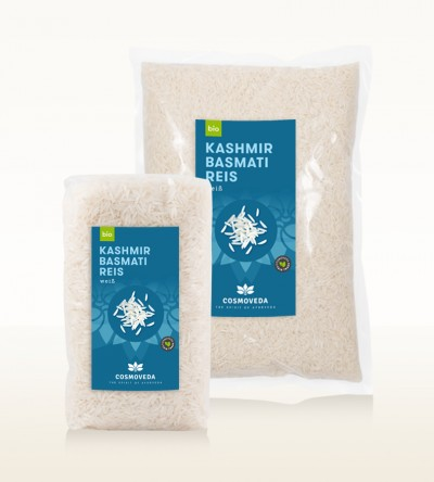 Organic Kashmir Basmati Rice white