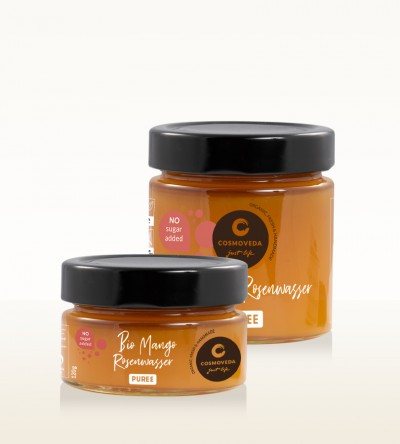 Organic Mango Rosewater Puree