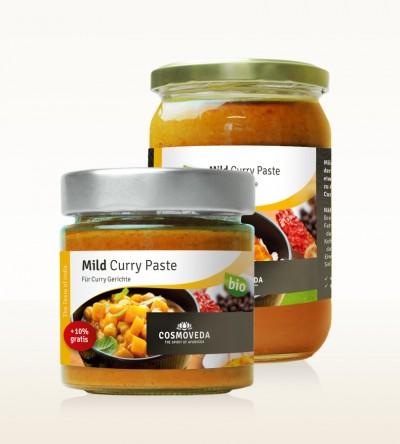 Organic Mild Curry Paste