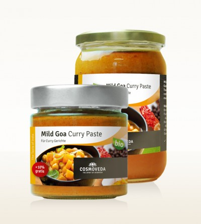 Organic Mild Goa Curry Paste