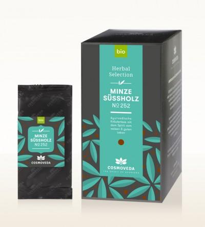 Organic Mint Liquorice Tea