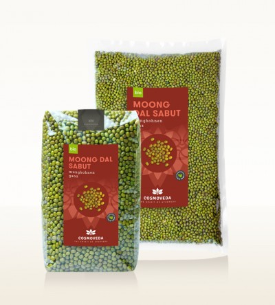 Organic Moong Dal Sabut - moong beans, whole