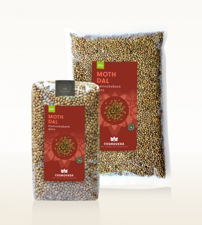 Organic Moth Dal - moth beans, whole
