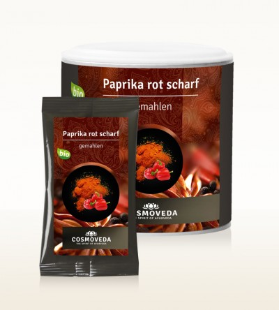 Organic Paprika red ground