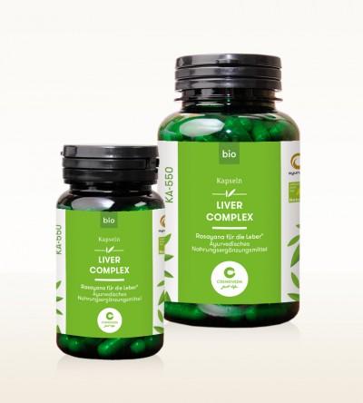 Organic Capsules - Liver Complex - Rasayana for the liver