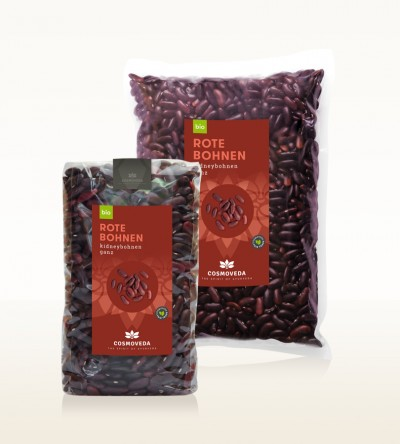 Organic Red Kidney Beans whole