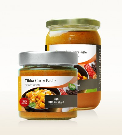 Organic Tikka Curry Paste