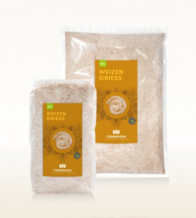 Organic Wheat Semolina