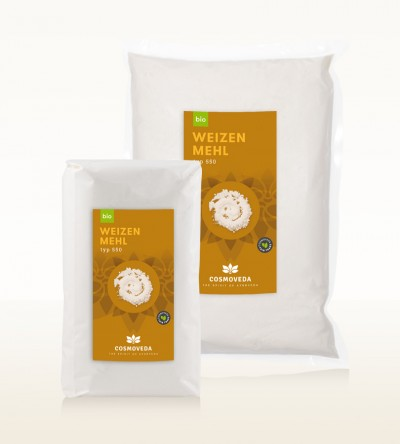 Organic wheat flour type 550