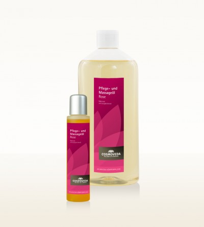 Rose Body and Massage Oil