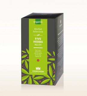 BIO 5 Kräuter Tee 25 x 1,8g